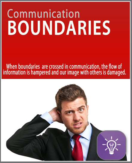 Communication Boundaries micro learning online training. Quick, affordable, free, 10 minutes, mobile, short training.