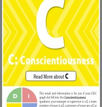 C: Conscientiousness