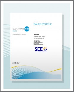 Sales Profile