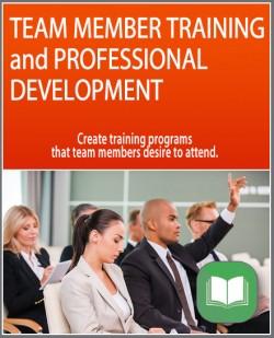 Team Member Training and Professional Development
