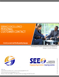 Personal Customer Contact