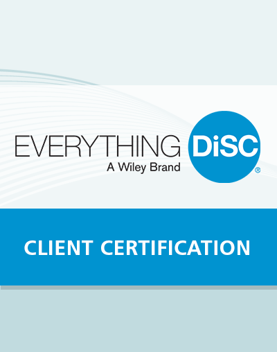 Everything DiSC Client Certification
