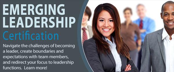 Emerging Leadership Certification